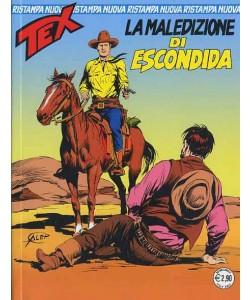 Tex Nuova Ristampa - N° 335 - La Maledizione Di Escondida - Bonelli Editore