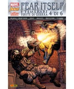 Marvel World - N° 12 - Fear Itself: I Temerari/Ferite Di Guerra 4 (M6) - Marvel Italia