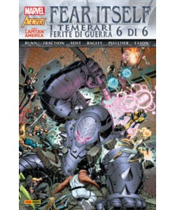Marvel World - N° 14 - Fear Itself: I Temerari/Ferite Di Guerra 6 (M6) - Marvel Italia
