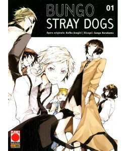 Bungo Stray Dogs - N° 1 - Bungo Stray Dogs - Manga Run Planet Manga