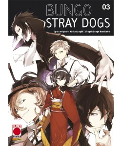 Bungo Stray Dogs - N° 3 - Bungo Stray Dogs - Manga Run Planet Manga