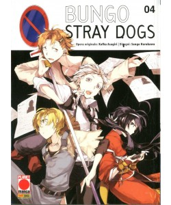 Bungo Stray Dogs - N° 4 - Bungo Stray Dogs - Manga Run Planet Manga