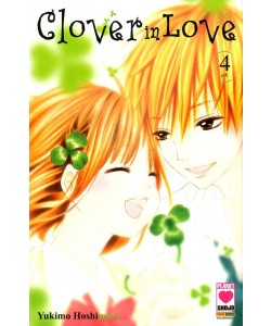 Clover In Love - N° 4 - Clover In Love (M4) - Planet Pink Planet Manga
