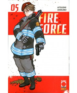 Fire Force - N° 5 - Fire Force - Manga Sun Planet Manga