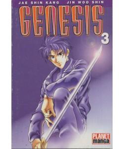 Genesis - N° 3 - Genesis 3 (Di 4) - Planet Manga