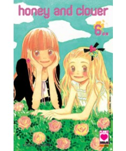 Honey And Clover - N° 6 - Honey And Clover 6 (M10) - Manga Love Planet Manga