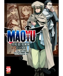 Maoyu (M18) - N° 5 - Il Re Dei Demoni E L'Eroe - Manga Icon Planet Manga