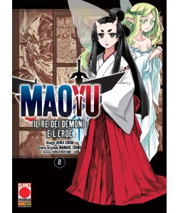Maoyu (M18) - N° 8 - Il Re Dei Demoni E L'Eroe - Manga Icon Planet Manga