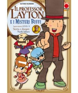 Professor Layton - N° 4 - Professor Layton E I Misteri Buffi - Manga Universe Planet Manga