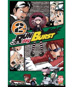 Run Day Burst - N° 2 - Run Day Burst (M8) - Planet Manga
