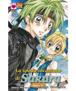Sakura - N° 6 - Spada Incantata Di Sakura - Manga Sound Planet Manga