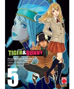 Tiger & Bunny - N° 5 - Tiger & Bunny - Manga Hero Planet Manga