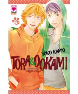 Tora & Ookami - N° 2 - La Tigre E Il Lupo - Collana Planet Planet Manga