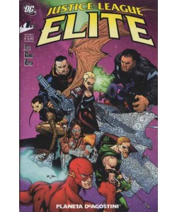 Justice League Elite (M6) - N° 1 - Justice League Elite - Planeta-De Agostini