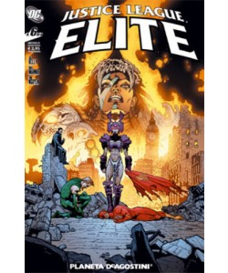 Justice League Elite (M6) - N° 6 - Justice League Elite - Planeta-De Agostini