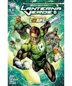 Lanterna V. Freccia V. Present - N° 16 - Lanterna Verde 8 - Planeta-De Agostini