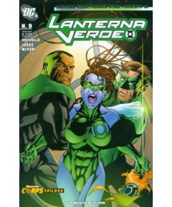 Lanterna V. Freccia V. Present - N° 18 - Lanterna Verde 9 - Planeta-De Agostini