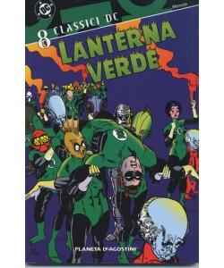 Lanterna Verde M12 - N° 8 - Classici Dc - Planeta-De Agostini
