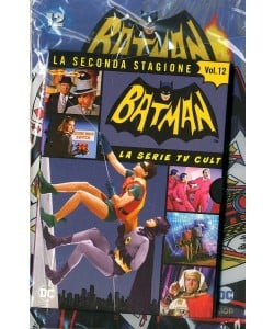 Batman '66 (Dvd + Fumetto) - N° 12 - Batman '66 - Rw Lion