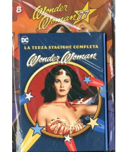Wonder Woman '77 (Dvd+Fumetto) - N° 8 - Wonder Woman '77 - Rw Lion
