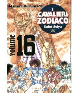 Cavalieri Zodiaco - N° 16 - Saint Seiya Perfect Edition (M22) - Star Comics