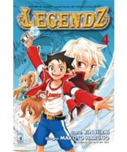 Legendz - N° 4 - Legendz (M4) - Neverland Star Comics