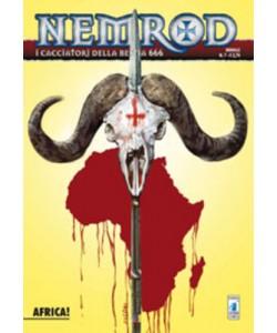 Nemrod - N° 7 - Africa! - Star Comics