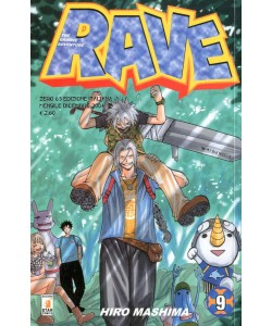 Rave - N° 9 - Rave 9 - Rave Groove Adventure Star Comics