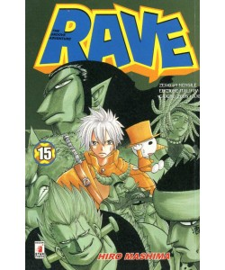 Rave - N° 15 - Rave 15 - Rave Groove Adventure Star Comics