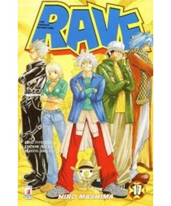 Rave - N° 17 - Rave 17 - Rave Groove Adventure Star Comics