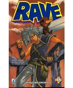Rave - N° 18 - Rave 18 - Rave Groove Adventure Star Comics