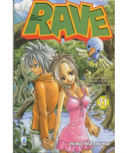 Rave - N° 21 - Rave 21 - Rave Groove Adventure Star Comics