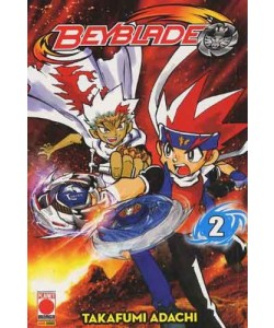 Beyblade - N° 2 - Manga Blade 2 - Planet Manga