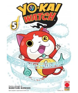 Yo-Kai Watch - N° 5 - Yo-Kai Watch 5 - Monsters Planet Manga