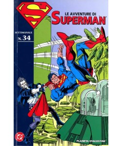 Avventure Di Superman - N° 34 - Avventure Di Superman N.34 - Planeta-De Agostini