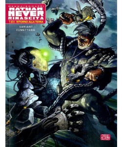 Nathan Never Rinascita (M6) - N° 1 - Ritorno Alla Terra - Variant Cover Bonelli Editore
