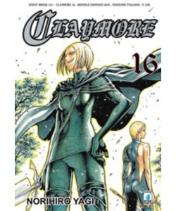 Claymore - N° 16 - Claymore 16 - Point Break Star Comics
