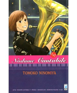 Nodame Cantabile - N° 17 - Nodame Cantabile (M25) - Up Star Comics