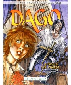 Dago Anno 22 In Poi - N° 260 - La Figlia Del Pirata - Nuovifumetti Presenta Editoriale Aurea