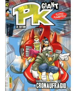 Pk Giant - N° 42 - Crononaufragio - Planet Manga