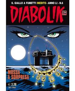 Diabolik Anno 51 - N° 6 - Mossa A Sorpresa - Diabolik 2012 Astorina Srl