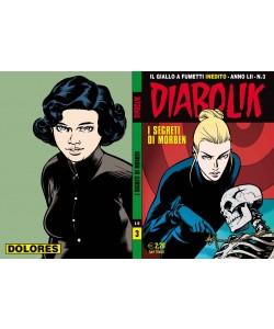 Diabolik Anno 52 - N° 3 - I Segreti Di Morben - Diabolik 2013 Astorina Srl