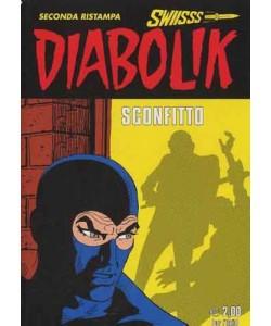 Diabolik Swiisss - N° 204 - Sconfitto - Astorina Srl