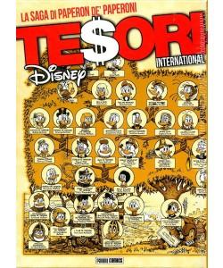 Tesori International - La Saga Di Paperon De' Paperoni + Litografia Con Cofanetto - Panini Disney