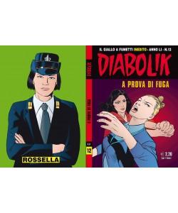 Diabolik Anno 51 - N° 12 - A Prova Di Fuga - Diabolik 2012 Astorina Srl