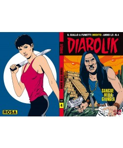 Diabolik Anno 52 - N° 4 - Sangue Nella Giungla - Diabolik 2013 Astorina Srl