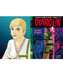 Diabolik Anno 52 - N° 7 - Sentenze Di Morte - Diabolik 2013 Astorina Srl
