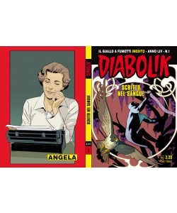 Diabolik Anno 54 - N° 1 - Scritto Nel Sangue - Diabolik 2015 Astorina Srl