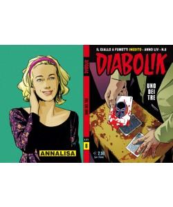 Diabolik Anno 54 - N° 8 - Uno Dei Tre - Diabolik 2015 Astorina Srl