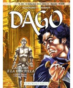 Dago Anno 22 In Poi - N° 262 - L'Automa E La Fanciulla - Nuovifumetti Editoriale Aurea
